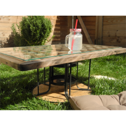 Table basse extérieure