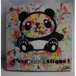 Toilenbois - Pandastique 25x25